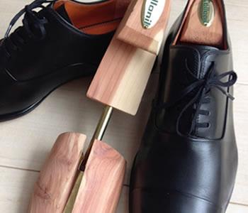 木製シューキーパー
