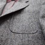 [スーツ・ジャケパン]大人なトラッドを着こなす②ヘリンボーン